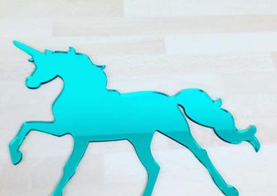 Laser Cut Horse - turquoise