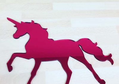Laser Cut Horse - red