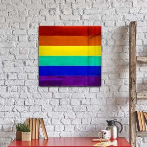 Pride Mirror - made from recycled acrylics